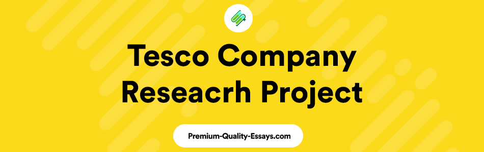 Tesco company research essay