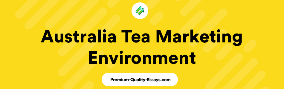 Australia tea marketing